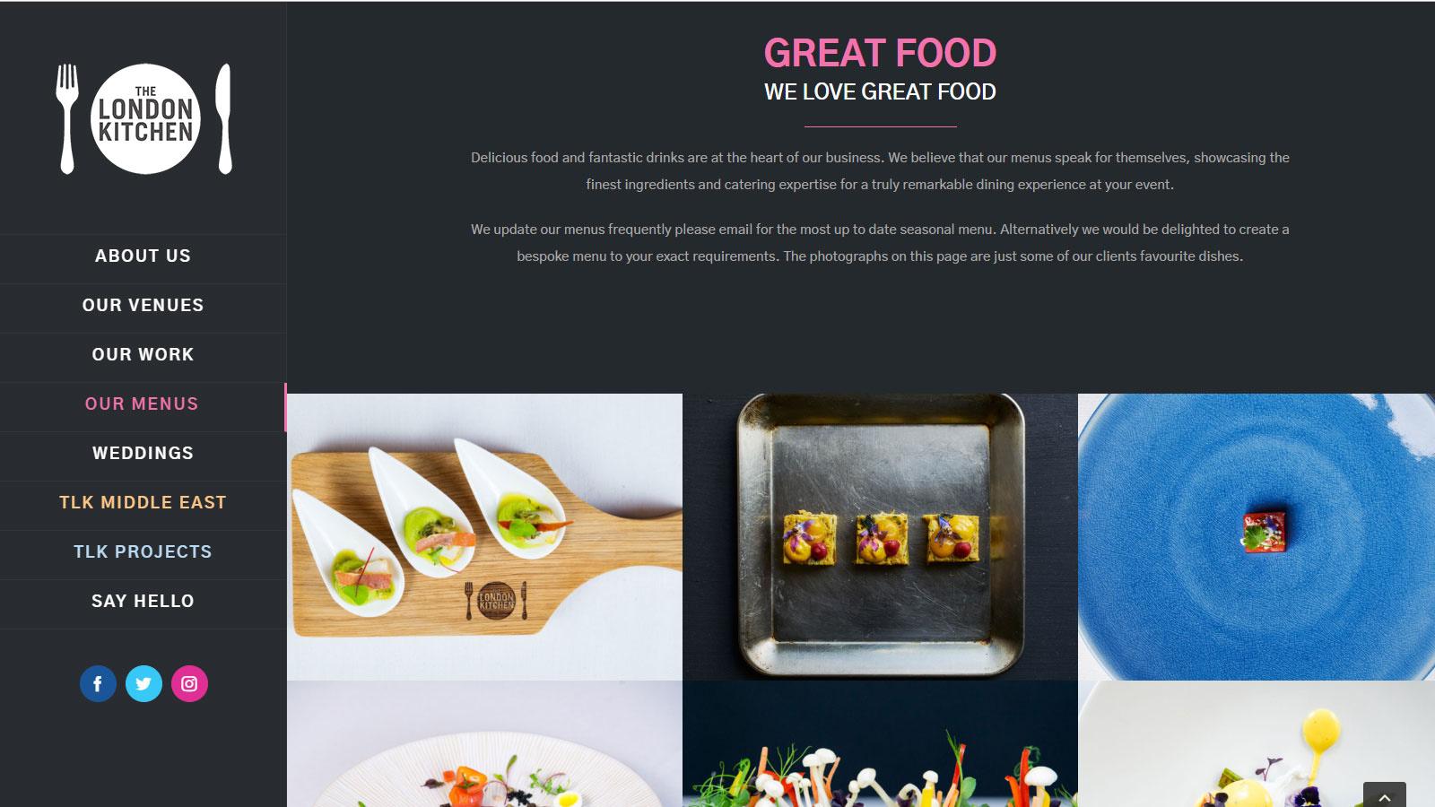 Business Portfolio Website Design