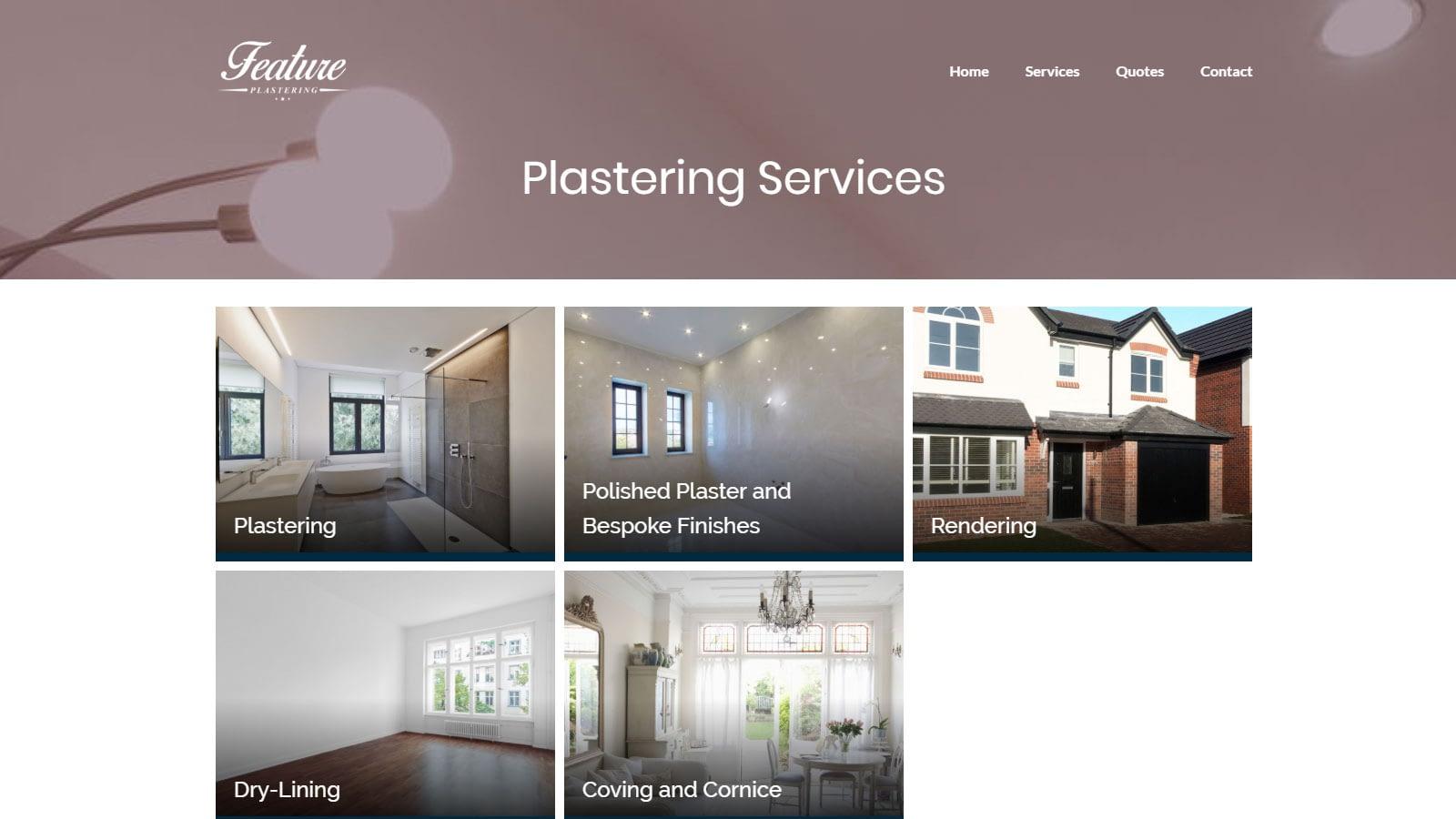Home Improvement Website Design
