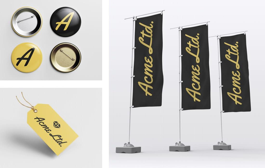Logo Design and Branding on Merchandise