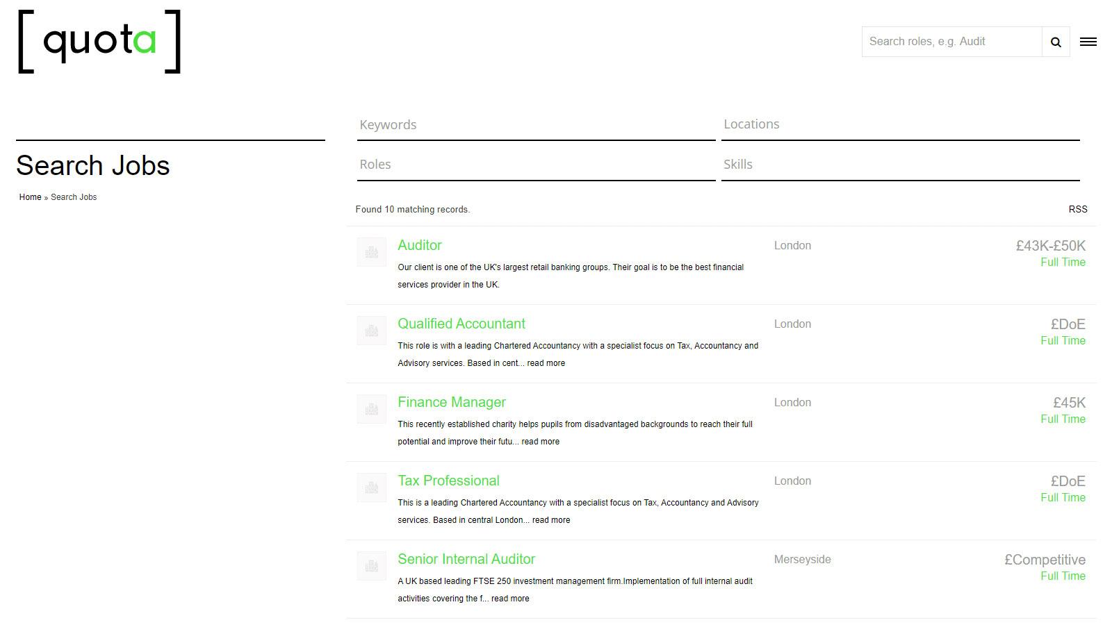 Recruitment Website Design